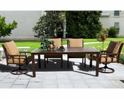 Gamble Creek Dining Set by Sunny Designs SU-4714s