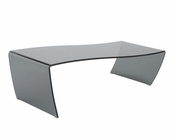 Glass Coffee Table Orfea by Euro Style EU-38511