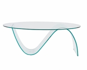 Glass Coffee Table Pandora by Euro Style EU-38508