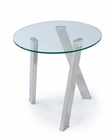 Glass End Table Prism by Magnussen MG-T3365-05