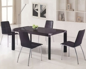 Glass Top Contemporary Dining Set OL-2