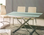 Glass Top Dining Set with Adjustable Height Table OL-4