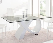 Glass Top Dining Table 33-989