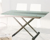 Glass Top Dining Table with Adjustable Height OL-DT04