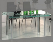 Glass Top Modern Dining Table OL-DT15