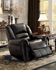 Glider Reclining Chair Center Hill by Homelegance EL-9668BLK-1