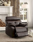 Glider Reclining Chair Evana by Homelegance EL-8539-1