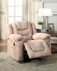 Glider Reclining Chair Freya by Homelegance EL-8513-1