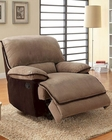 Glider Reclining Chair Grantham by Homelegance EL-9717-1