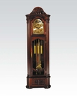 Grandfather Clock in Cherry by Acme Furniture AC01417