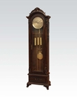 Grandfather Clock in Dark Walnut by Acme Furniture AC97079
