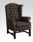 Gray Fabric Accent Chair by Acme Furniture AC59311