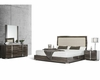 Grey Made in Italy Bedroom Set in Modern Style 44B118SET