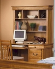 Hamilton Single Pedestal Student Computer Desk and Hutch CO40005
