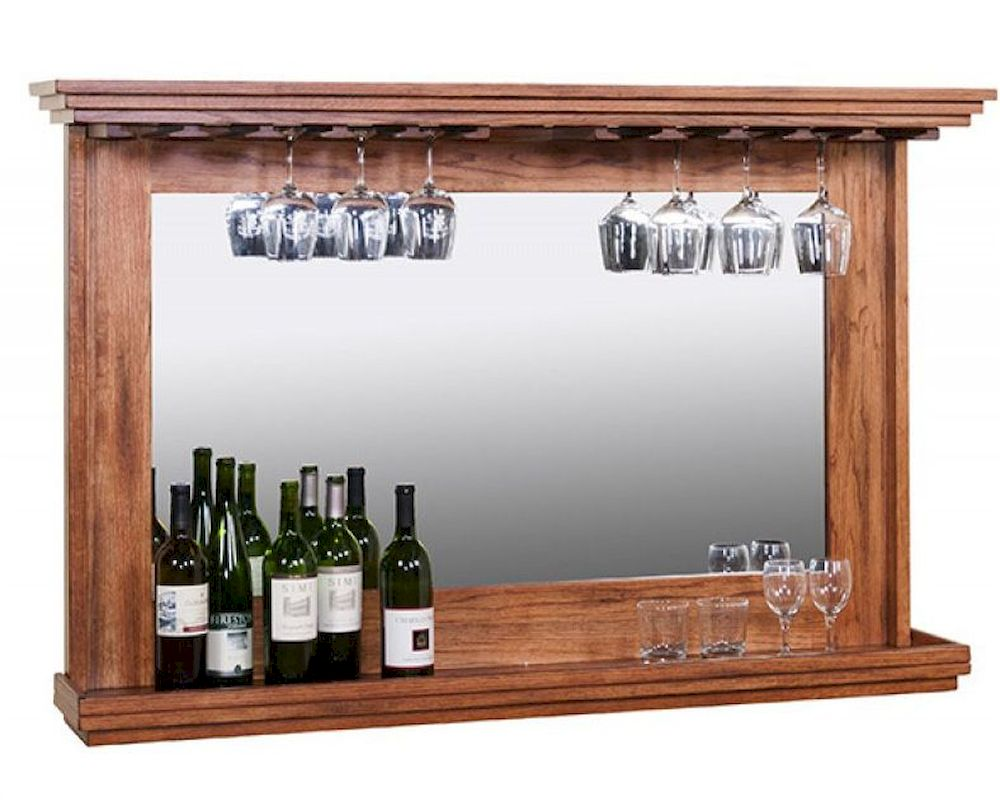 Hanging Backbar W Mirror Light By Sunny Designs Su 1916ro