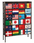 Hekman 24-Flag Bunting Chest HE-27311