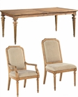 Hekman Acacia Dining Set Wellington Hall HE-23320-SET
