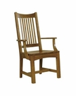 Hekman Arm Chair Arts & Crafts HE-84001 (Set of 2)