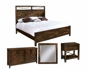 Hekman Bedroom Set w/ Panel Bed Harbor Springs HE-941512RH-SET