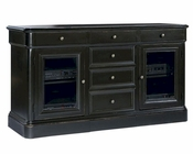 Hekman Black 66in Entertainment Console HE-81441