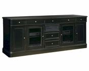 Hekman Black 88in Entertainment Credenza HE-81442