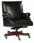 Hekman Black Leather Executive Chair HE-79250B