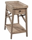 Hekman Chairside Table Primitive HE-27275