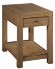 Hekman Chairside Table Weathered Transitions HE-951404WT