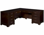 Hekman Contemporary Executive L-Desk HE-79187