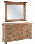 Hekman Dresser w/ Mirror Wellington Hall HE-23360-DM