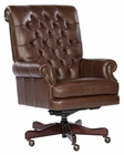 Hekman Executive Chair in Coffee Leather HE-79253C