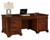 Hekman Executive Desk in Weathered Cherry HE-79270