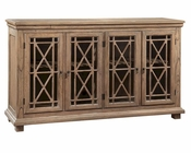 Hekman Lattice Front Entertainment Console HE-27299