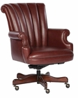 Hekman Merlot Leather Executive Chair HE-79251M