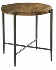 Hekman Metal/ Wood End Table HE-27497