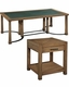 Hekman Occasional Table Set Weathered Transitions HE-951400WT-SET