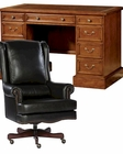 Hekman Office Set w/ Pedestal Desk HE-712602181-SET