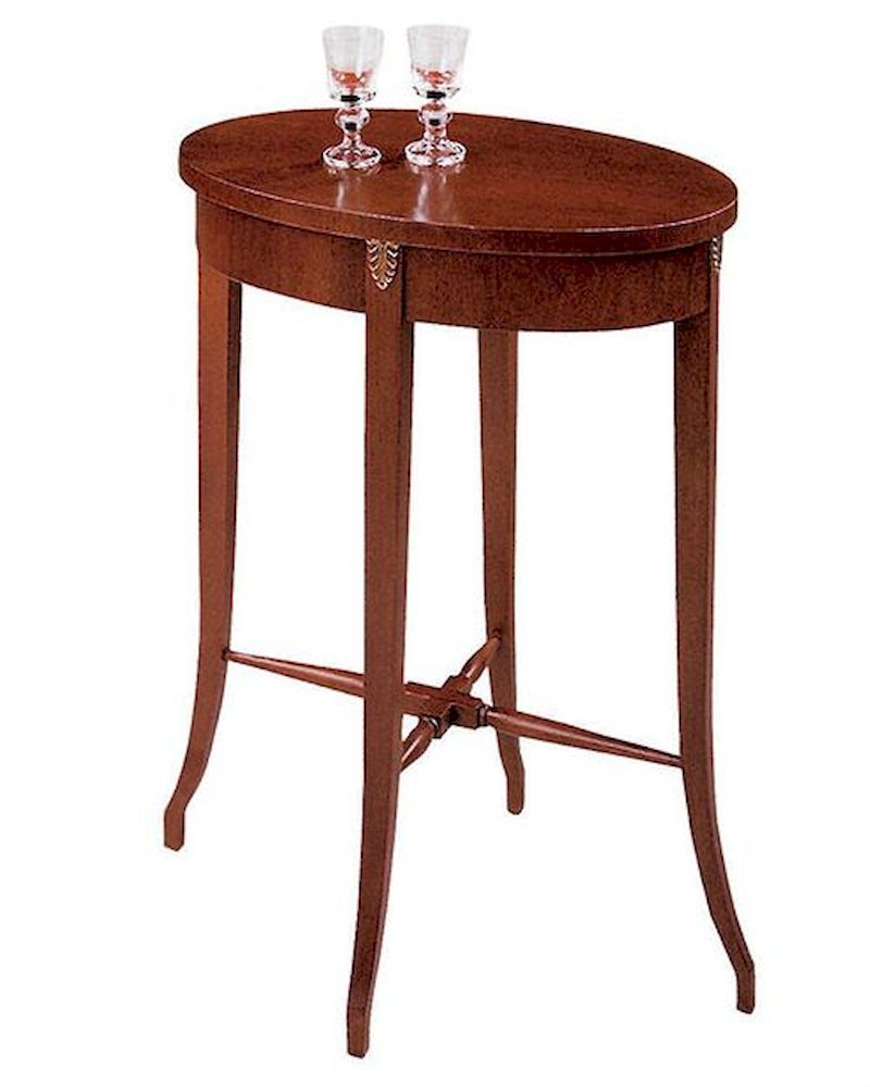 Foyer Table Oval : Hekman oval accent table he
