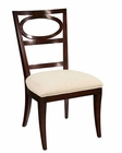 Hekman Oval Back Side Chair Central Park HE-23125 (Set of 2)
