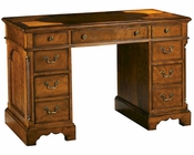 Hekman Oval Inlay Top Pedestal Desk HE-71107