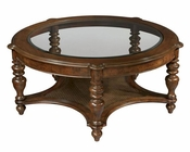 Hekman Round Coffee Table Vintage European HE-23202