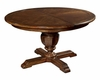 Hekman Round Dining Table Vintage European HE-23221