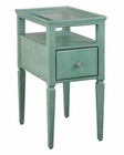 Hekman Seafoam Green Chairside Table HE-27460