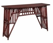 Hekman Slat Front Console Table HE-27480