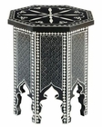 Hekman Small Painted Moroccan Octagon Table HE-27533