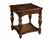 Hekman Square End Table Vintage European HE-23205