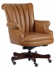 Hekman Tan Leather Executive Chair HE-79251T