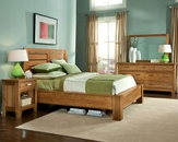 Heritage Brands Furniture 4 PC Bedroom Set Grand Lodge HB7425SET