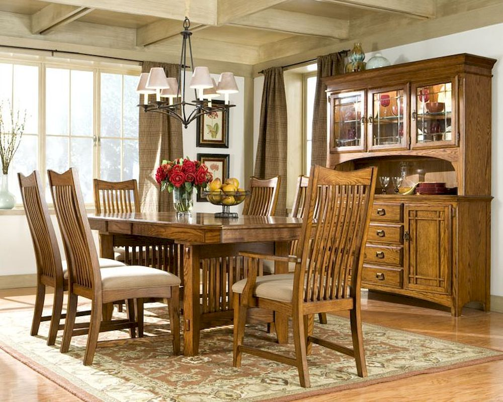 Heritage brands furniture dining set pasadena revival hb42106set Home brands furniture trentham