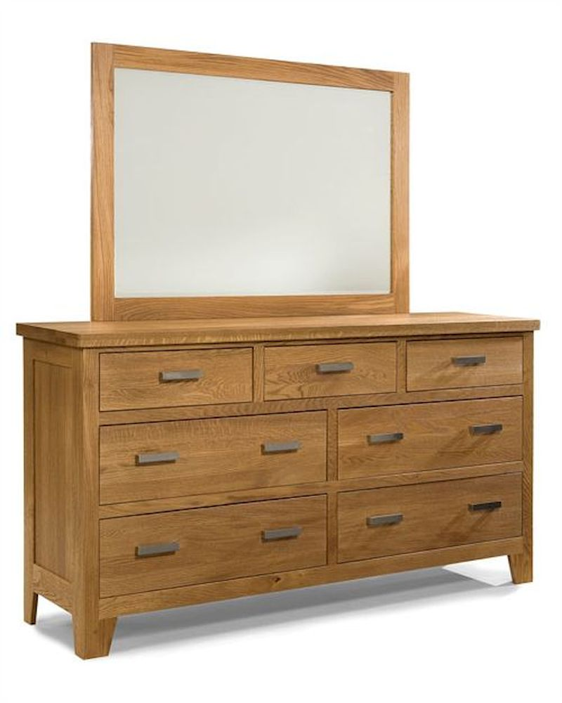 heritage brands furniture dresser mirror grand lodge hb7407 7491